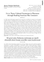 prikaz prve stranice dokumenta Us vs. Them: Cultural Encounters in Warzones through Reading American War Literature