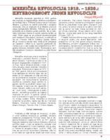 prikaz prve stranice dokumenta Meksička revolucija 1910. - 1920.: heterogenost jedne revolucije