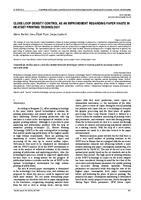 prikaz prve stranice dokumenta Unapređenje utroška papira u području heatset tiskarske tehnologije metodom mjerenja gustoće zacrnjenja sustavom zatvorene petlje
