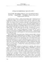 prikaz prve stranice dokumenta Znali su horvacki njegova mati, Sanja Vulić, Bernardina Petrović, 'Govor Hrvatskoga Groba u Slovačkoj'