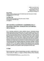 prikaz prve stranice dokumenta Sintaktička složenost i subordinacija u pisanom diskursu inojezičnih govornika hrvatskoga