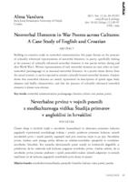 prikaz prve stranice dokumenta Nonverbal Elements in War Poems across Cultures: A Case Study of English and Croatian